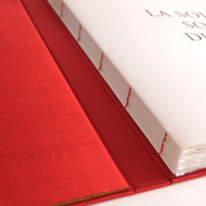 imprimerie luxe Paris - reliure copte