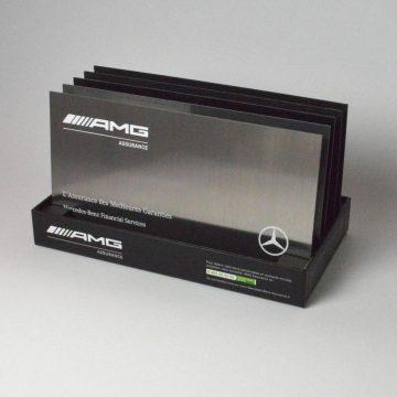 presentoir packaging luxe